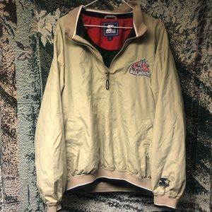 Vintage Starter Columbus Blue Jackets Windbreaker